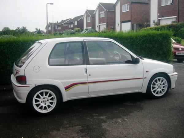 Peugeot 106 Rallye. Peugeot 106 1.1,